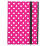 Hot Pink Polka Dot iPad Air Case