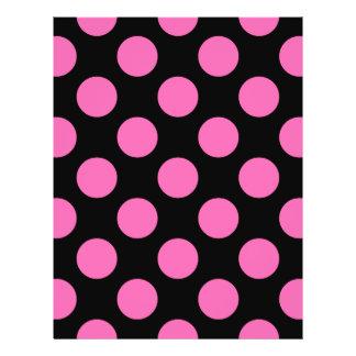 Hot Pink Polka Dots Flyer