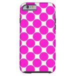 Hot Pink Polka Dots - iPhone 6 Case