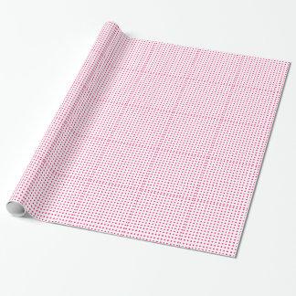 Hot Pink Polka Dots Wrapping Paper