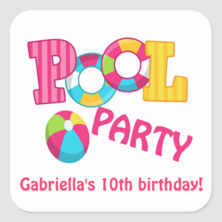 Pool Party Gifts On Zazzle