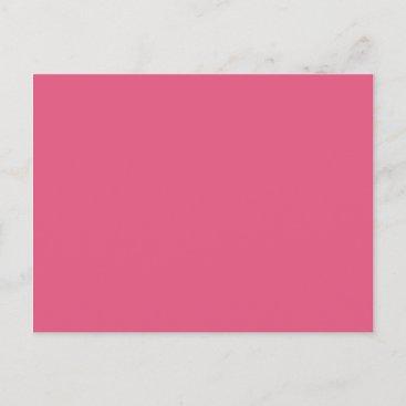 Hot Pink Postcard