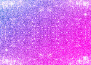 hot pink purple glitter sparkle faux texture magnetic photo frame