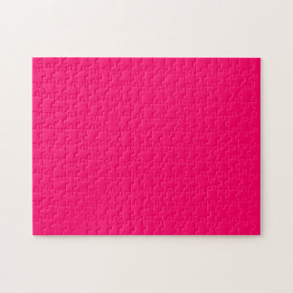 Hot Pink Jigsaw Puzzle