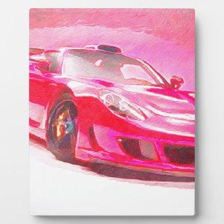 Hot Pink Racer Plaque