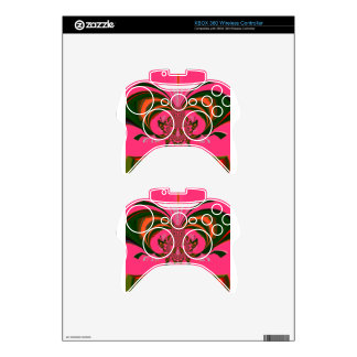 Hot Pink Red Golden Green Xbox 360 Controller Decal