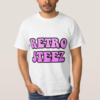 Hot Pink Retro Steez T-Shirt