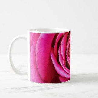 Hot Pink Rose Coffee Mug