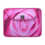 Hot Pink Rose Floral Macbook Pro Flap Sleeve MacBook Pro Sleeves