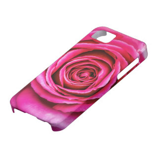 Hot Pink Rose iPhone SE/5/5s Case