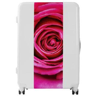 Hot Pink Rose Luggage