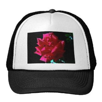 Hot Pink Rose Original art E.L.D Trucker Hat