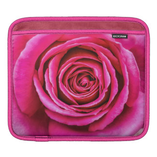 Hot Pink Rose Sleeve For iPads