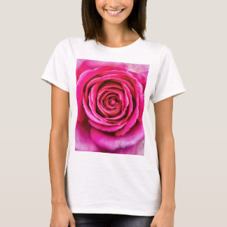 Pink Rose T-Shirts & Shirt Designs | Zazzle