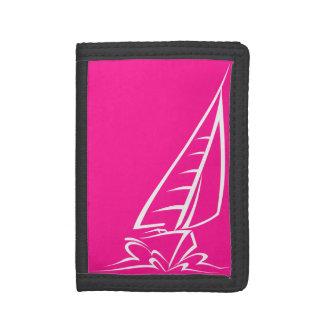 Hot Pink Sailing Wallet