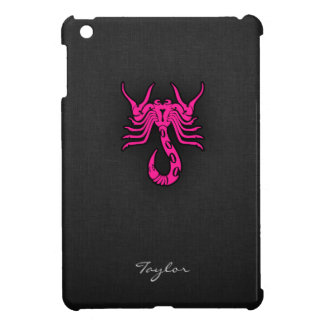 Hot Pink Scorpio Scorpion Zodiac Sign Case For The iPad Mini