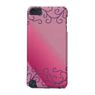 Hot Pink Scroll Design iPod Touch 5G Case