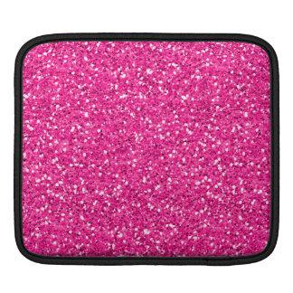 Hot Pink Shimmer Glitter iPad Sleeve