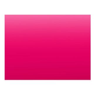 Hot Pink Sky Postcard