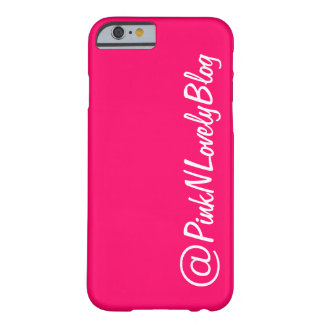 Hot Pink Social Media Iphone 6 Case