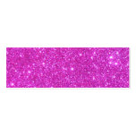 Hot Pink Sparkle Glittery CricketDiane Art Double-Sided Mini Business Cards (Pack Of 20)