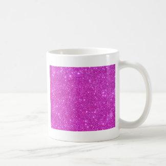 Hot Pink Sparkle Glittery CricketDiane Art Classic White Coffee Mug