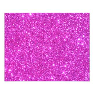 Hot Pink Sparkle Glittery CricketDiane Art Flyer