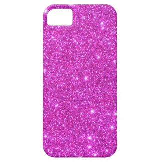 Hot Pink Sparkle Glittery CricketDiane Art iPhone SE/5/5s Case