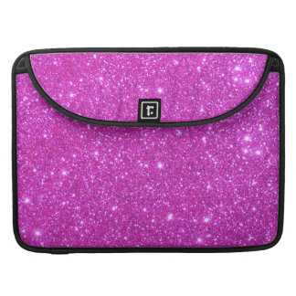 Hot Pink Sparkle Glittery CricketDiane Art Sleeves For MacBook Pro