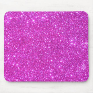 Hot Pink Sparkle Glittery CricketDiane Art Mouse Pad