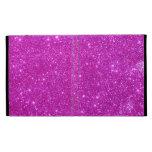 Hot Pink Sparkle Glittery CricketDiane iPad Folio iPad Folio Cover