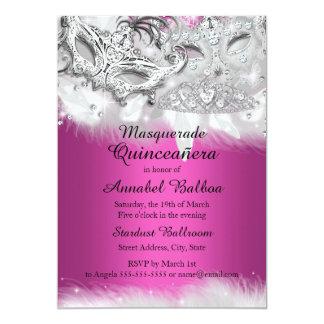 Masquerade Quinceanera Invitations & Announcements | Zazzle