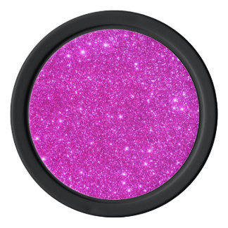 Hot Pink Sparkly Girly Poker Chips Girls Night Out