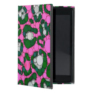 Hot Pink Spearmint Cheetah Abstract iPad Mini Cover