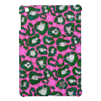 Hot Pink Spearmint Cheetah Abstract iPad Mini Covers