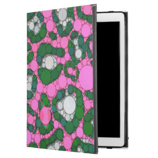 "Hot Pink Spearmint Cheetah Abstract iPad Pro 12.9"" Case"