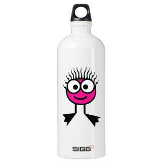 Hot Pink Swim Character Drink Bottle