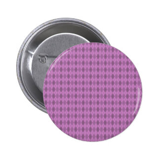 Hot pink,tartan,modern,pattern,girly,argyle,trendy 2 inch round button