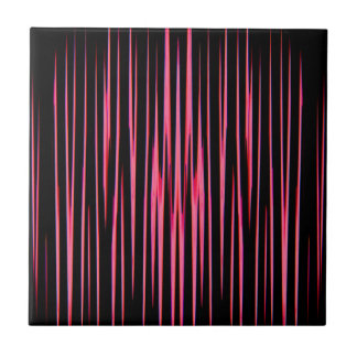 HOT PINK TILE (an abstract art design) ~