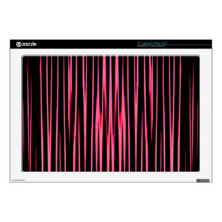 "HOT PINK TILE (an abstract art design) ~ 17"" Laptop Skin"
