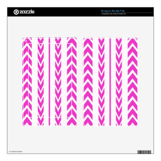 Hot Pink Tire Tread Decal For Kindle Fire