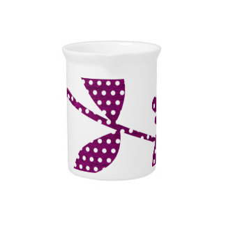 hot pink triangles drink pitcher