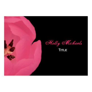 Hot Pink Tulip Business Card
