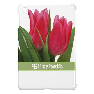 Hot Pink Tulips iPad Mini Case