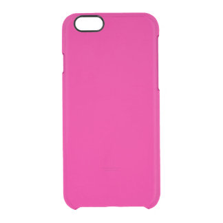 Hot Pink Uncommon Clearly™ Deflector iPhone 6 Case