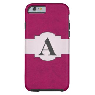 Hot Pink Velvet Girls Night Custom Home Casino Tough iPhone 6 Case