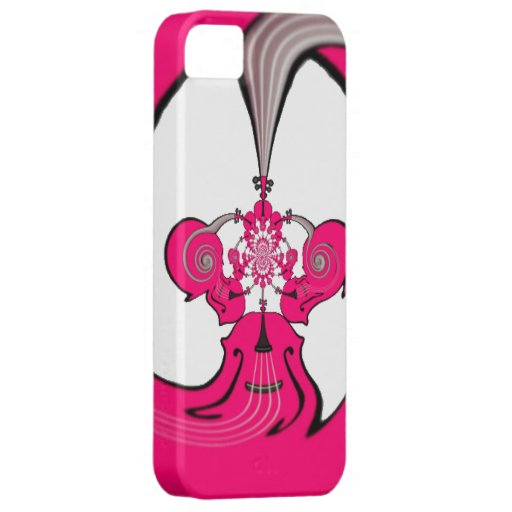 """""""Hot Pink Violin"""" Phone Case iPhone 5 Cover"""