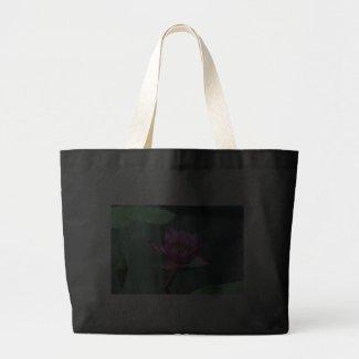 Hot Pink Water Lily Bag bag