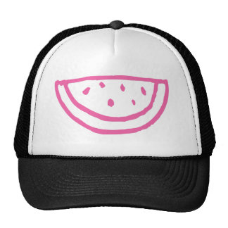 Hot Pink Watermelon Trucker Hat