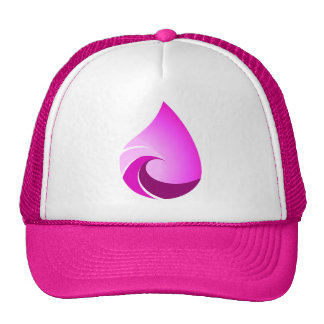 Hot Pink Wave Trucker Hat for This Salty Life